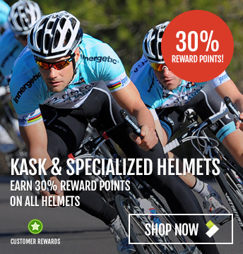30% Reward Points On Specialized & Kask Helmets