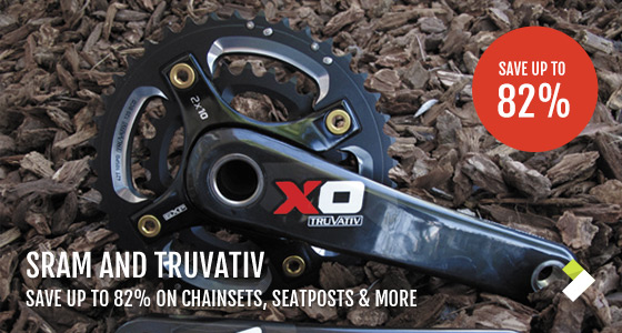 Save Up To 82% On Sram & Truvativ